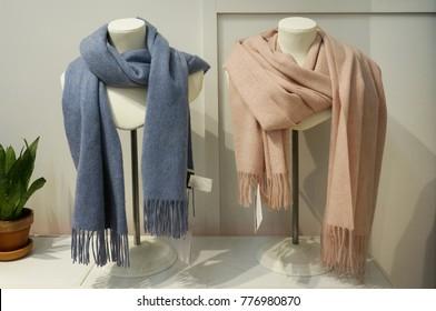 A shawl in a shop