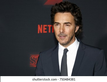 Shawn Levy at the Netflix's season 2 premiere of 'Stranger Things' held at the Regency Village Theatre in Westwood, USA on October 26, 2017.