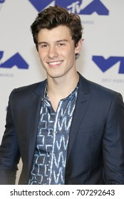 Shawn Mendes at the 2017 MTV Video Music Awards held at the Forum in Inglewood, USA on August 27, 2017.