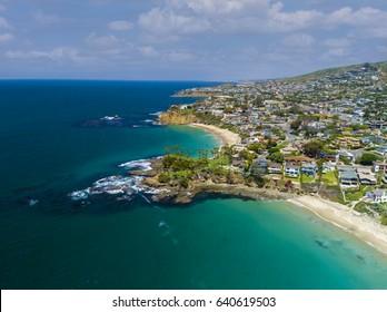 Shaws Cove Laguna Beach, Ca (Aerial Photo)