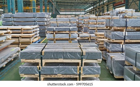 Shear Steel sheet, Plate metal strap in factory warehouse,coil service center