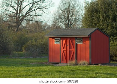 shed in park