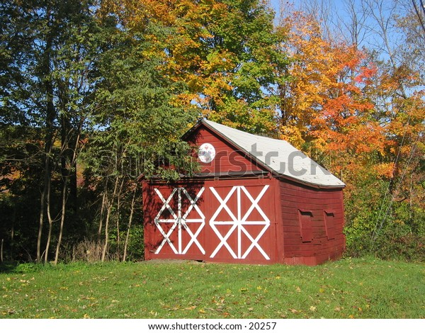 Shed in upstate NY.