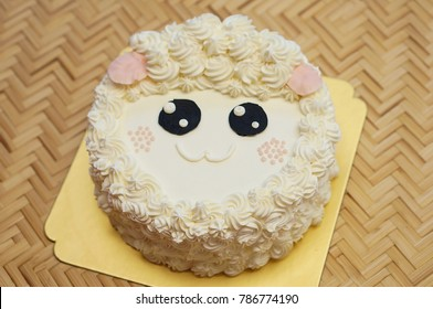 Fantastic Sheep Cake Images Stock Photos Vectors Shutterstock Funny Birthday Cards Online Benoljebrpdamsfinfo