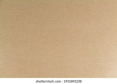 Sheet of beige kraft paper as background