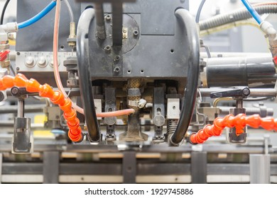 sheet feeding of offset printing machine.  Komori lithrone