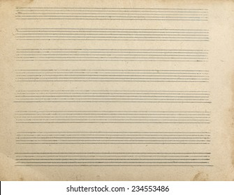 Sheet music for musical notes