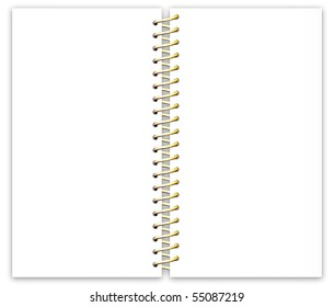 Sheet Paper with Metal Spiral-4