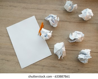 a sheet of paper and the saints clumps around the, search ideas, failing, attempts to sozdat new, creative, finding solutions