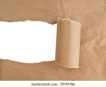the sheet of torn paper