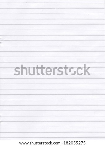sheet white blank paper lines design stock photo edit now