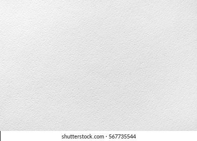 Sheet of white watercolor paper background. Close up