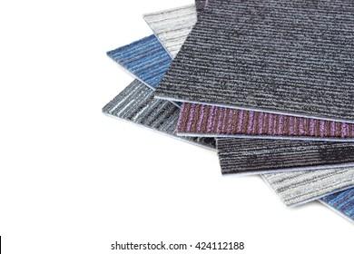 Sheets of carpets