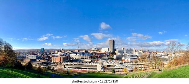 Sheffield City View Panorama