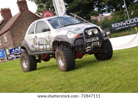 Sheffield England August  X Ford Ka On August   In