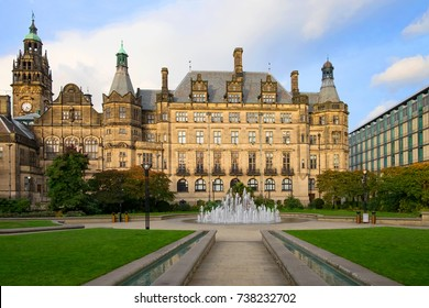Sheffield Town Hall is a building in the City of Sheffield, England.