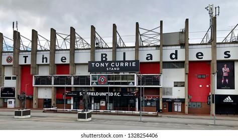 Sheffield / UK - May 18 2018: Sheffield United Football Ground