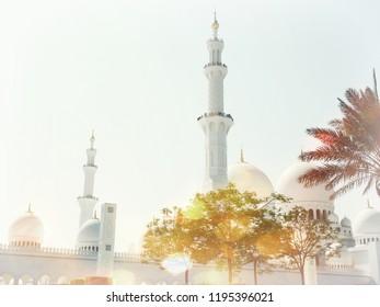 The Sheikh Sayed Grand Mosque, Abu Dhabi