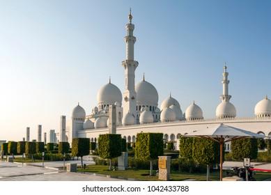 The Sheikh Zayd Mosque. Abu Dhabi. United Arab Emirates