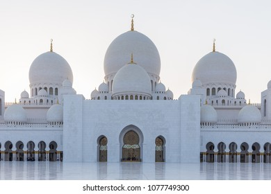 Sheikh Zayed Grand Mosque, Abu Dhabi, in UAE
