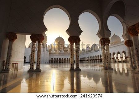 Sheikh Zayed mosque in