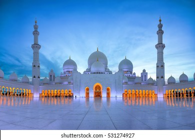 Sheikh Zayed Mosque, Grand Mosque, Abu Dhabi