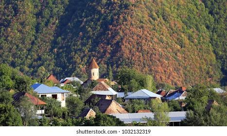 Sheki azerbaijan , Building