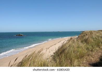 Shell Beach on Herm