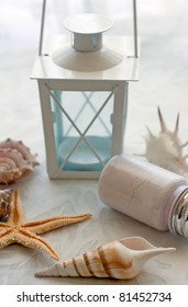 shell & candle holder