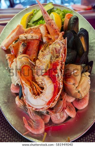 shellfish market Bergen Fish in Norway