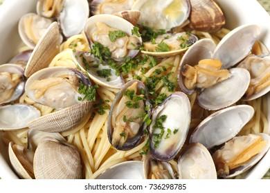 Shellfish Spaghetti (Asari)