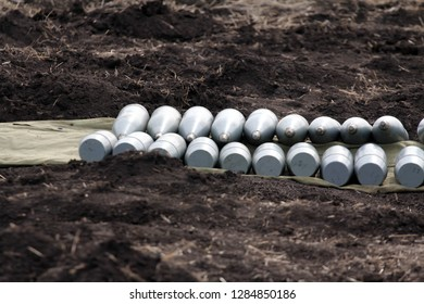 shells for large-caliber artillery, Ukraine and Donbass conflict