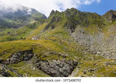 Shelter in the Fagaras Mountain - Romania