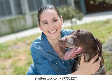 shelter keeper loves her residents