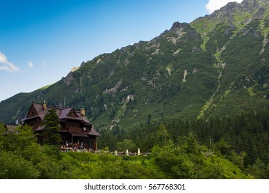 Shelter in the mountains