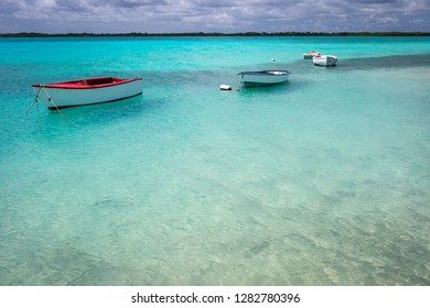 Sheltered waters of Lac Bai, Bonaire, Netherlands Antilles