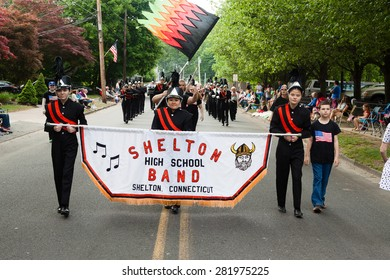 """Shelton, CT, USA - May 25, 2015: The individuals are some of the many participants at the """"Memorial Day Parade"""" held in Shelton, Connecticut, on May 25, 2015"""