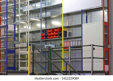 Shelving System in Archive Storage Room