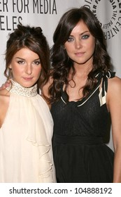 Shenae Grimes and Jessica Stroup at '90210' presented by the Twenty-Sixth Annual William S. Paley Television Festival. Arclight Cinerama Dome, Hollywood, CA. 04-11-09