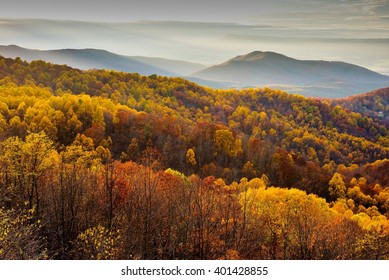 Shenandoah National Park in October