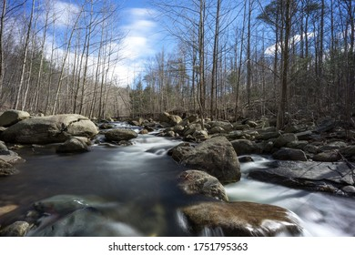 Shenandoah National Park Rapidan River Long Exposure Flowing