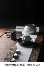 Sheng surplus water bowl tea