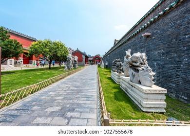 Shenyang, China- June 28, 2016: Shenyang Imperial Palace (Mukden Palace), UNESCO world heritage of China.