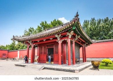 Shenyang,China- June 28,2016:Shenyang Imperial Palace, the only existing royal palace in China outside of the Forbidden City in Beijing,located at  Shenyang City.