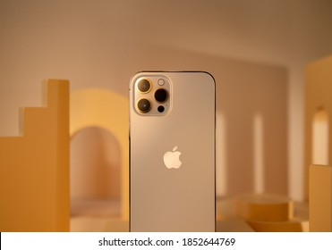 Shenzhen, China - 12 November 2020: iPhone 12 Pro Max