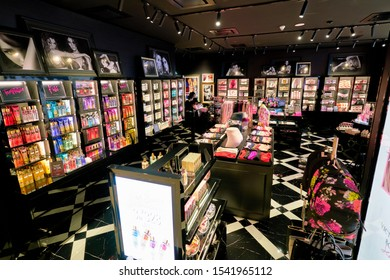 SHENZHEN, CHINA - CIRCA APRIL, 2019: interior shot of Victoria's Secret store in Shenzhen Bay shopping mall.