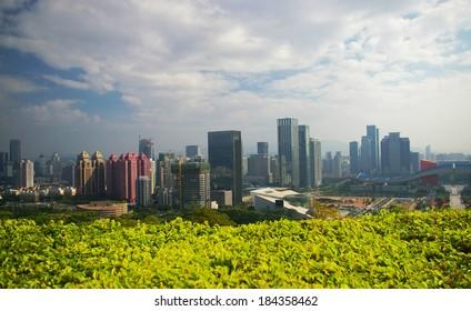 Shenzhen (China) - green city
