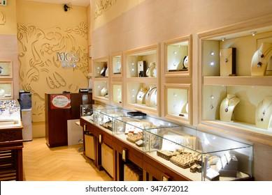 Jewellery Shop Interior Images Stock Photos Vectors Shutterstock