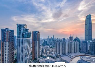 Shenzhen city building