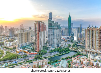 Shenzhen city skyline